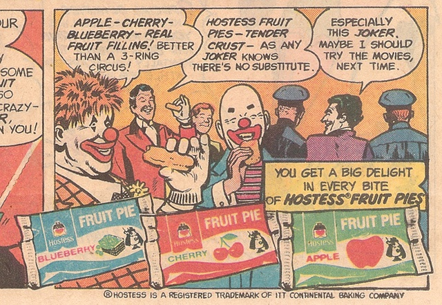 Old Hostess Fruit Pie Comic Book Ad. #retro #fruitpie