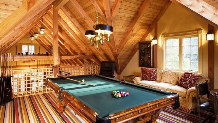 Attic Interior Design Ideas