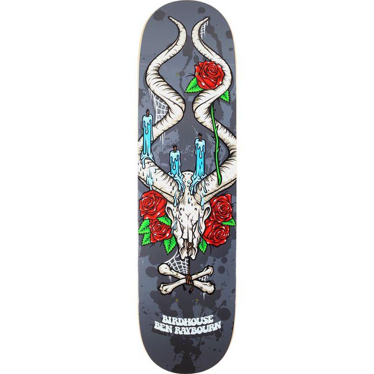 Birdhouse Skateboards Ben Raybourn Shrine Skateboard Deck - 8.25 x 31.875 - Warehouse Skateboards