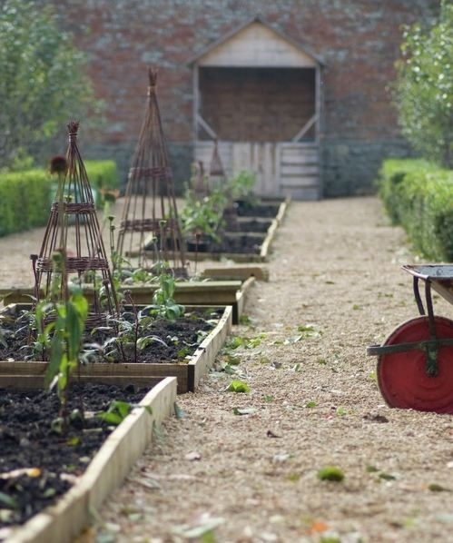 Babington House garden