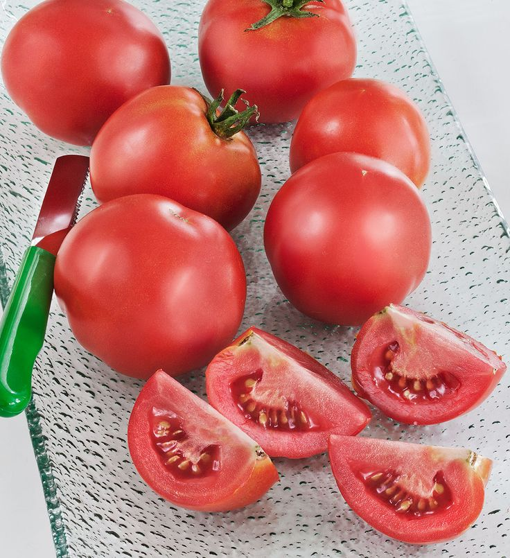 Early Girl - This hybrid tomato is one of the best known first or early, flavorful tomatoes, offering high yields through summer and another quick fall crop if desired.