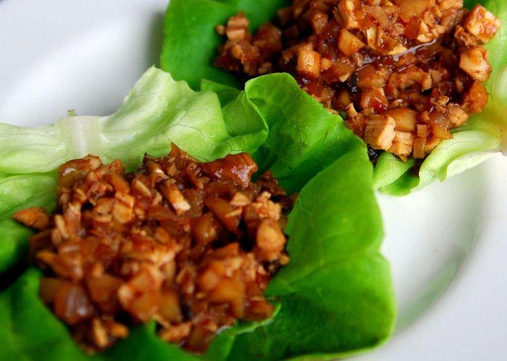 Easy Chicken Lettuce Wraps Recipe