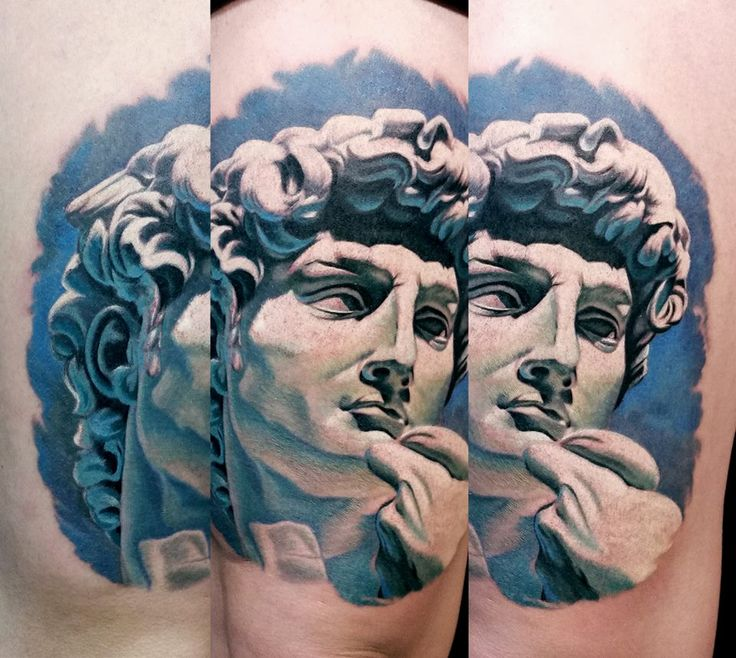 1151 best tattoo designs quotes images on pinterest for Greek sculpture tattoo