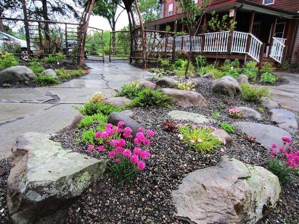 Just A Simple Rock Garden Dream Farm Barn Pinterest
