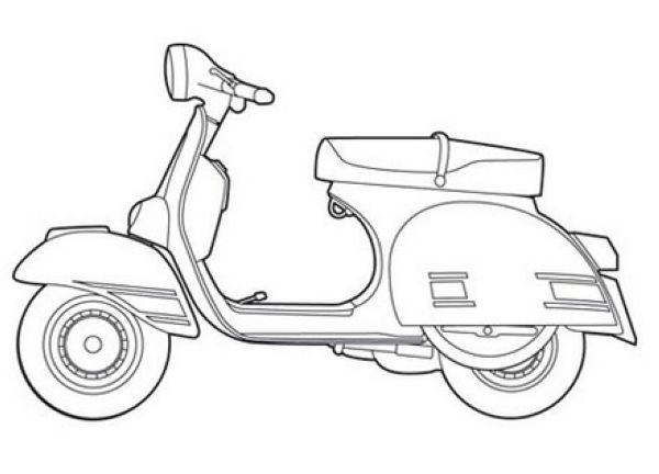 Vespa Coloring Pages For Kids Free Coloring Sheets Coloring Sheets Coloring Pages Minions Coloring Pages