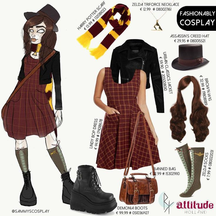 Combine your favourite Attitude items to become a unique character like @sammyscosplay ! 😍 Are you going to @dutchcomiccon in an Attitude outfit?  Use #weareattitude and have a chance to be styled and drawn by @psychara_art as well!