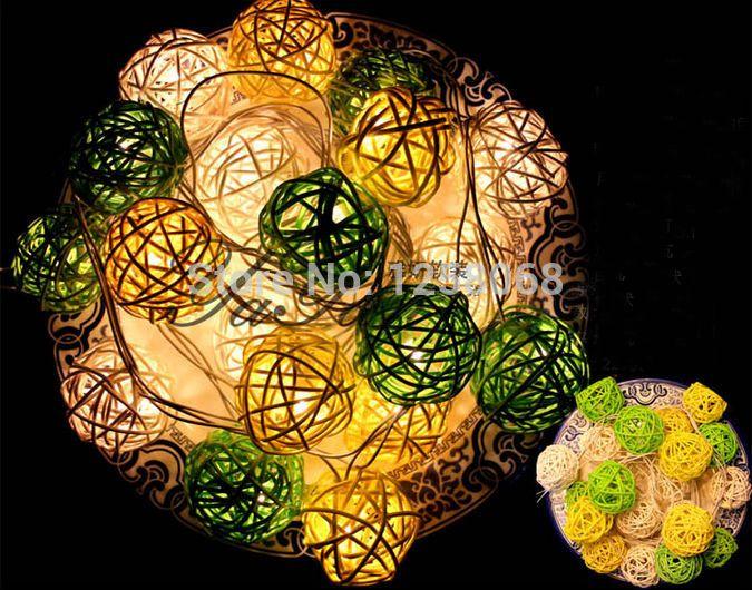 Ватный Шарик, Светильник, Свет Люстры Luminaria Украшения Спальни Лампы Навидад Светящиеся Подвесные Струнные Светильники
