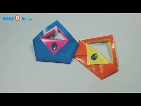 How to Make an Origami Purse - YouTube
