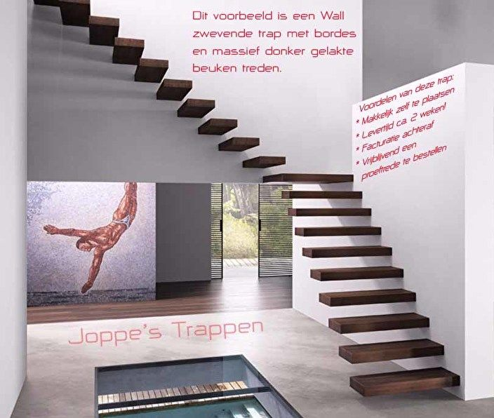 1000 idee n over trap leuning op pinterest trappen for Goedkope trappenmaker