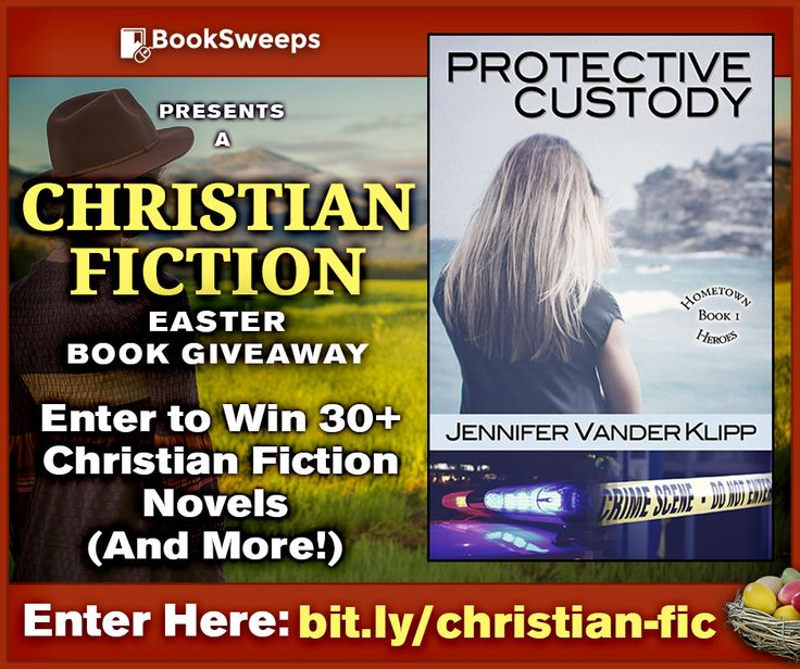 Have you seen this awesome giveaway from BookSweeps? You can win my book Protective Custody, plus books from authors like Rosemary Hines and Dan Walsh, and a Kindle Fire. This giveaway ends soon, so make sure you hurry and enter! Good luck!  Join the fun here!  https://booksweeps.com/enter-win-30-christian-fiction-books-apr-17/