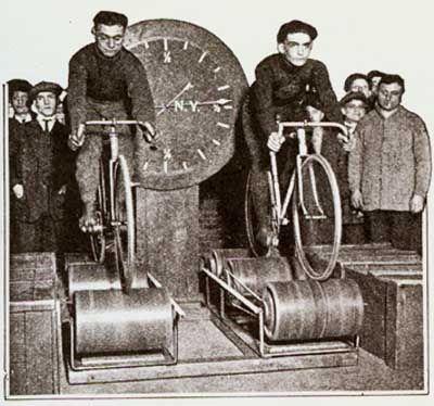 Bike Works NYC Bike Racing Machine Intro
