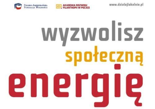 Wyzwolisz Społeczną Energię