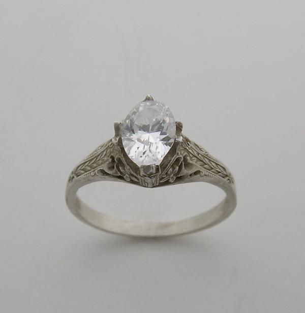 Fancy Antique Engagement Ring Settings