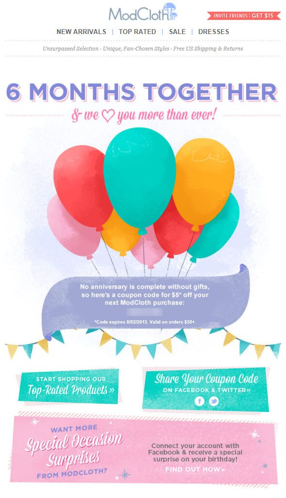 Best 25+ Birthday email ideas on Pinterest Email marketing - sample happy birthday email