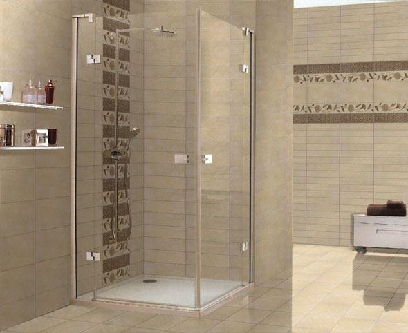 Cenefa para baño en la regadera  design  Pinterest