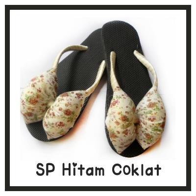 sandal jepit wanita SP hitam coklat | latest fashion ...
