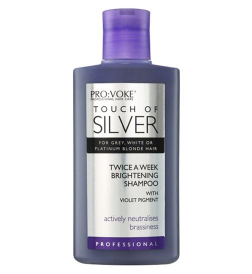 Touch Of Silver Silver Shine Shampoo Weekly Treatment 150ml - Boots