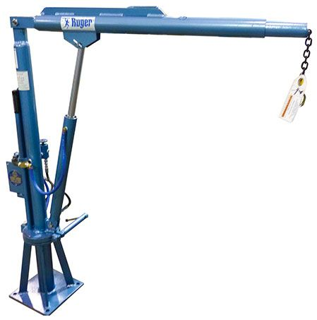 Truck Mounted Crane-Ruger Industries. Custom options available. Call 330-656-1600
