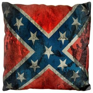 Pude med det Amerikanske Sydstatsflag
