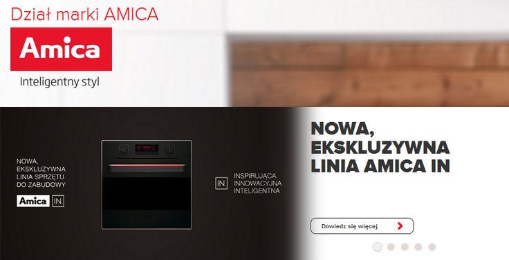 Innowacyjna technologia czy niebanalny design ✨ to tylko niektóre z cech wyróżniających produkty Amica. Zobaczcie, jaką ofertę przygotowała dla Was ta marka! https://www.maxkuchnie.pl/producenci-agd/amica/?utm_source=Facebook&utm_medium=cpc&utm_campaign=fb_0605_amica