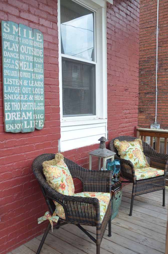 Pier 1 Imports: Porch Makeover & $100 Pier 1 Gift Card
