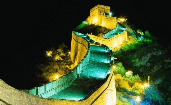 Great-Wall-Of-China-night-view