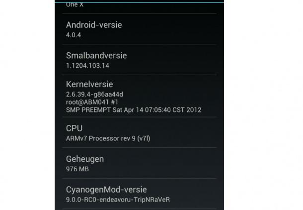 La CyanogenMod 9 arriva su HTC One X