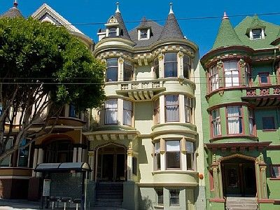 Victorian Row Houses (Painted Ladies), San Francisco