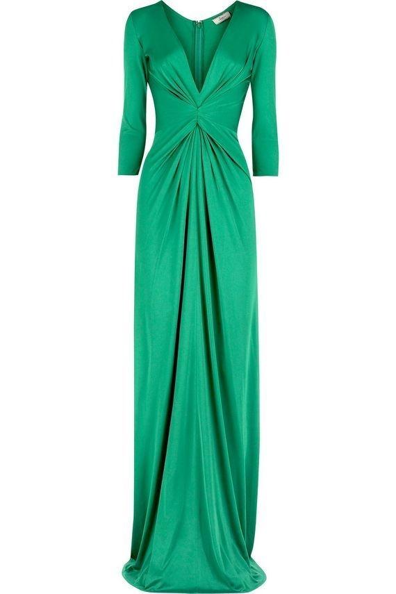 Issa Long Sleeve Maxi Dress