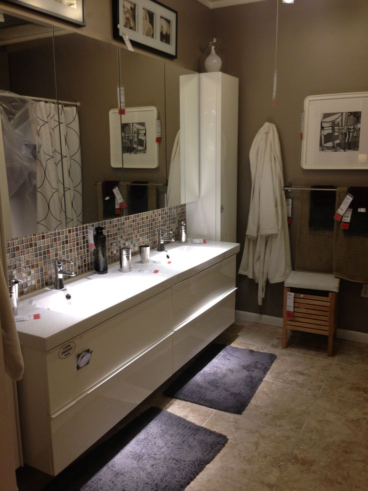 251 Best Images About Bathroom Ideas On Pinterest Traditional Bathroom Master Bath And Ikea