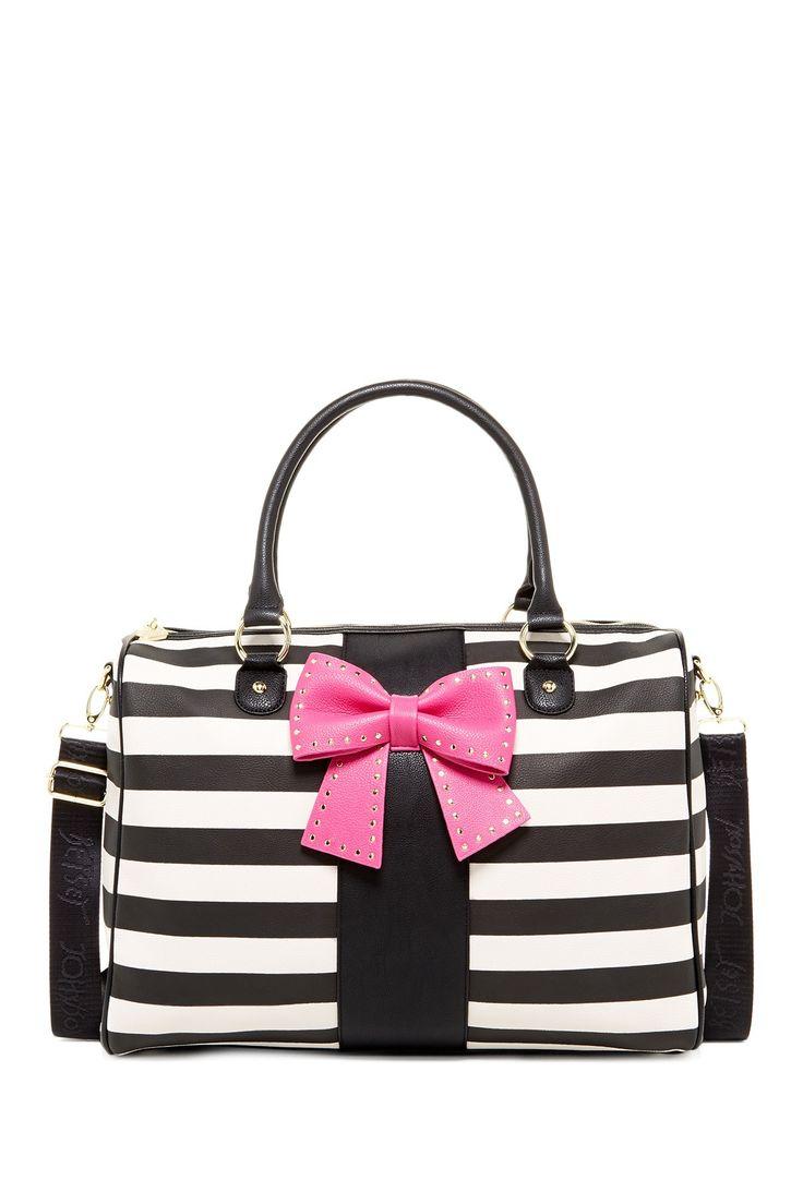 Betsey Johnson | Bow Regard Weekend Bag | Nordstrom Rack