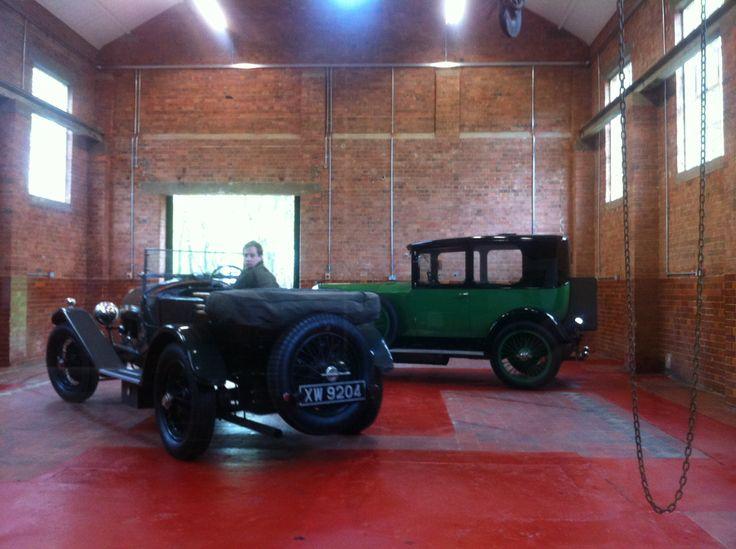 Bentley 4 1/2 Vauxhall 3098 saloon Nick Portway Both for sale RG-ltd