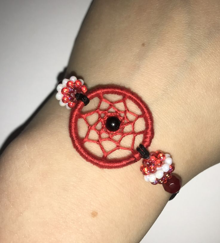 #dreamcatcher #bracelet perfect for an #everyday #simple #classy look! Or as a #friendship #bracelet a bit more #unique than usual. Check out my #etsy store for more #mini #dream #catcher #jewellery and other #boho designs! ❤️  http://etsy.me/2Fkeh4b