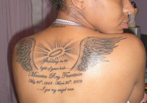 tattoos memory loved one | 30 In Loving Memory Tattoos Which Look Lovely | CreativeFan