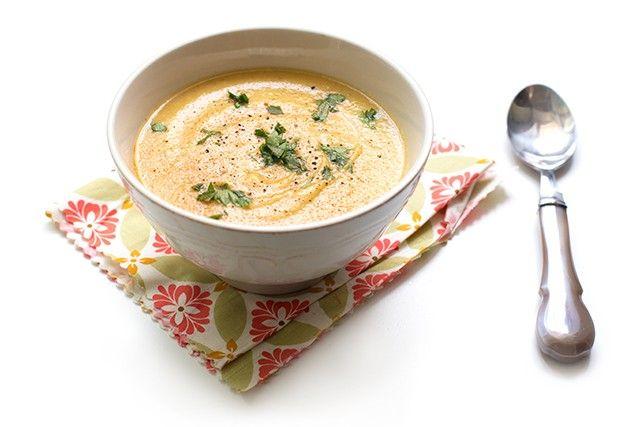 Supa crema de pastarnac copt - Mazilique