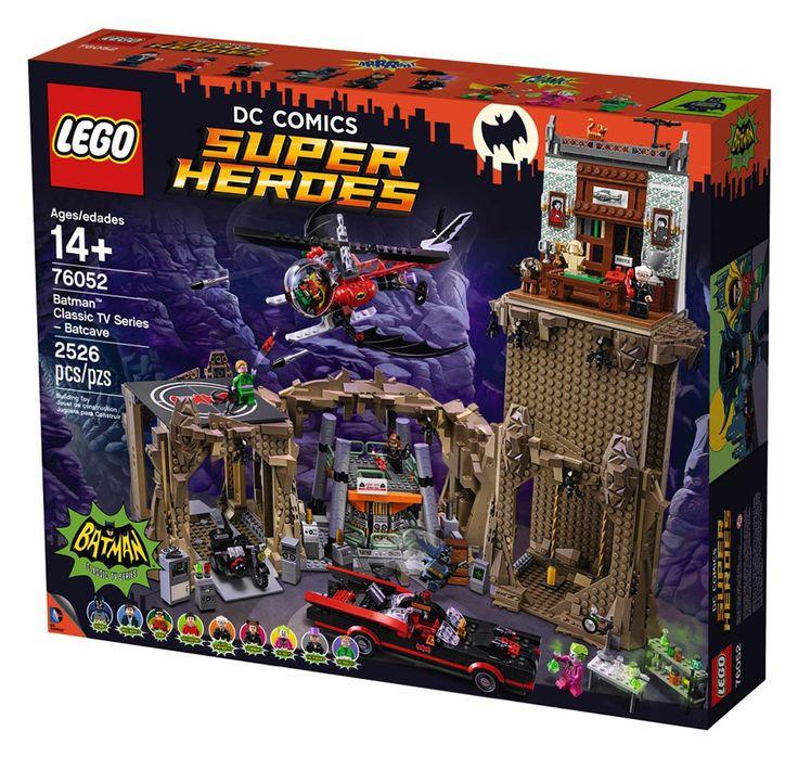 Comparez les prix du LEGO DC Comics Super Heroes 76052 Série TV classique Batman - La Batcave avant de l'acheter ! Infos, description, images, vidéos et notices du LEGO 76052 Série TV classique Batman - La Batcave sur Avenue de la brique