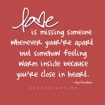 Love is..    http://quotediary.me/#