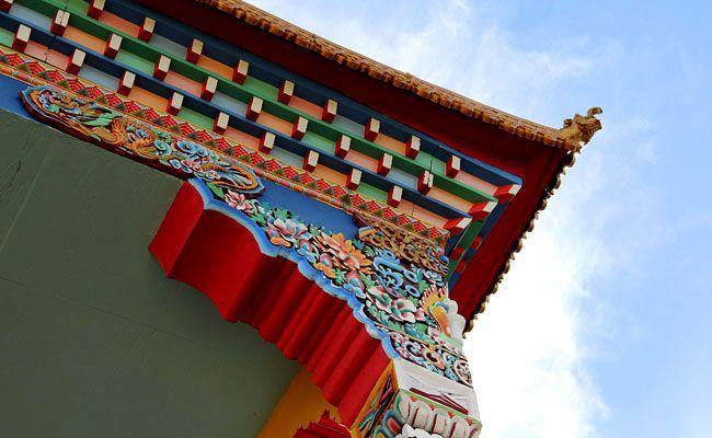 Templo Budista | Chagdud Gonpa Khadro Ling, Três Coroas, RS
