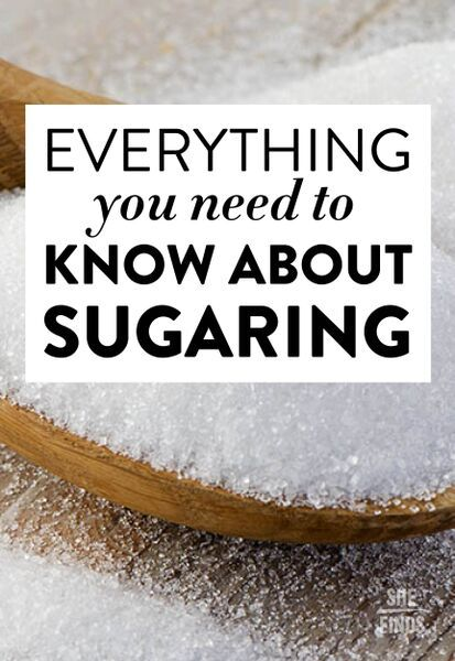 Everything you need to know about sugaring #hairremoval