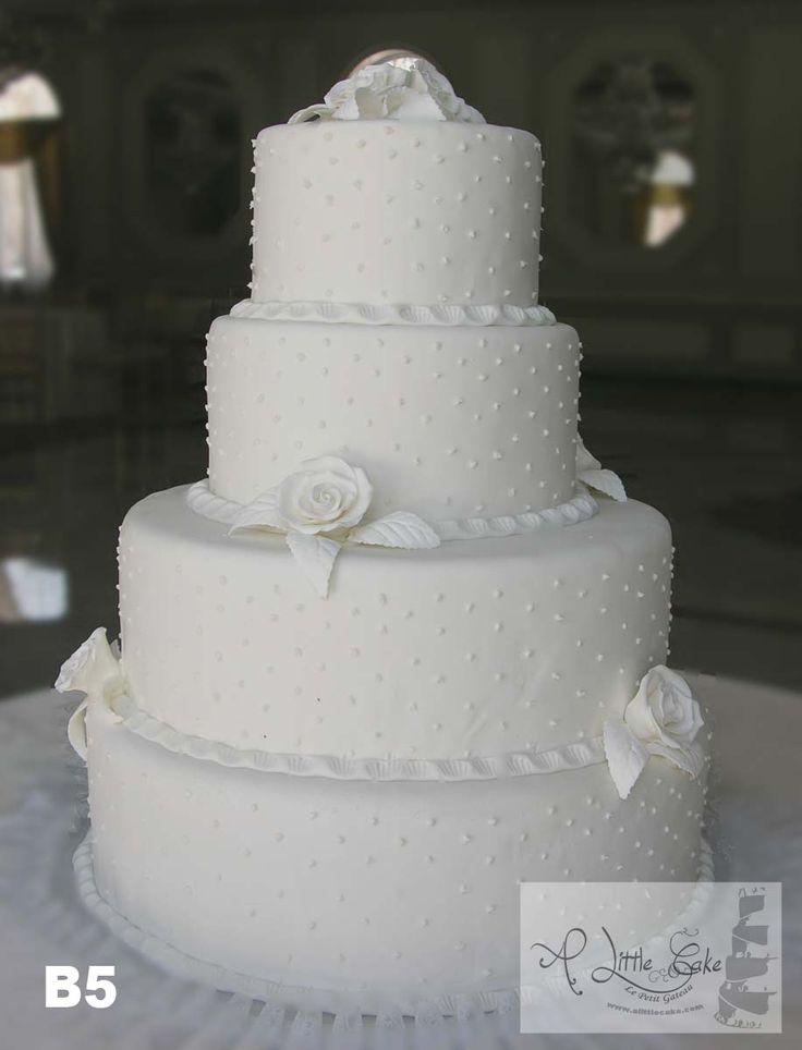 Fondant Wedding CakesA Little Cake