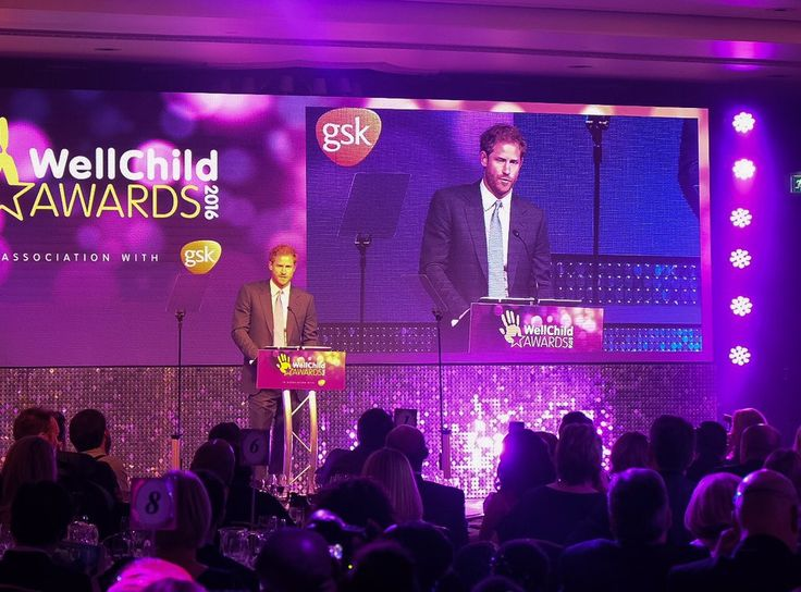 """Kensington Palace on Twitter: """"Prince Harry: """"Wow, wow, wow – another incredible year of awards, and barely a dry eye in the house amongst the adults."""" #WellChildAwards"""
