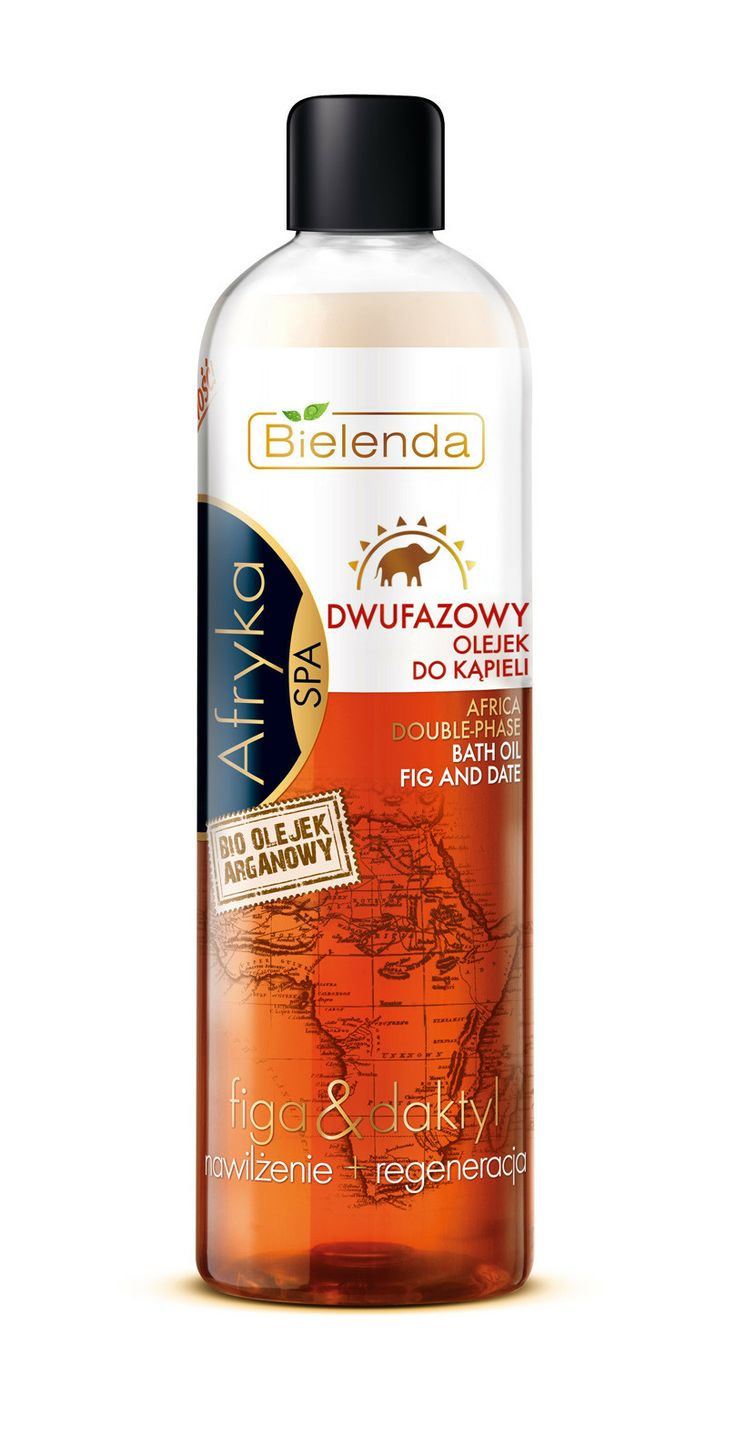 Bielenda AFRICA double-phase bath oil 400 ml BI193008 | Visagist