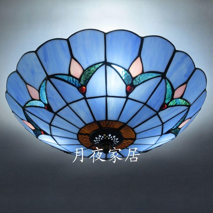 mode kunst lamp multicolour glazen plafond licht blauwe decoratie verlichting woonkamer verlichting in productdetails van Plafondverlichting op AliExpress.com | Alibaba Groep