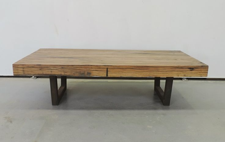 Coffee Table with 100mm stringy bark timber.