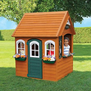1000+ ideas about Wooden Playhouse on Pinterest | Play ...