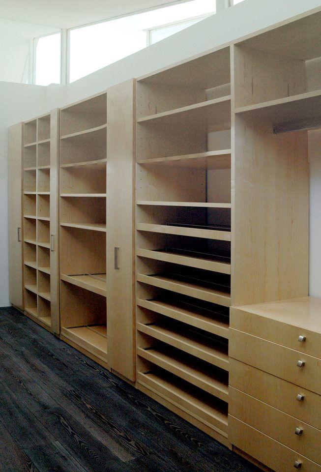 Nuestros closets son muy amplios y los puedes diseñar a tu gusto.