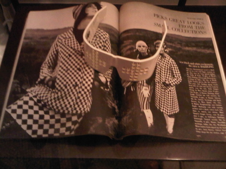 British Vogue - September 1964.  Article styled and edited by Marit Allen