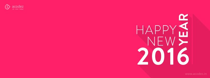 Pink that women love - New Year Facebook Cover Photo 2016