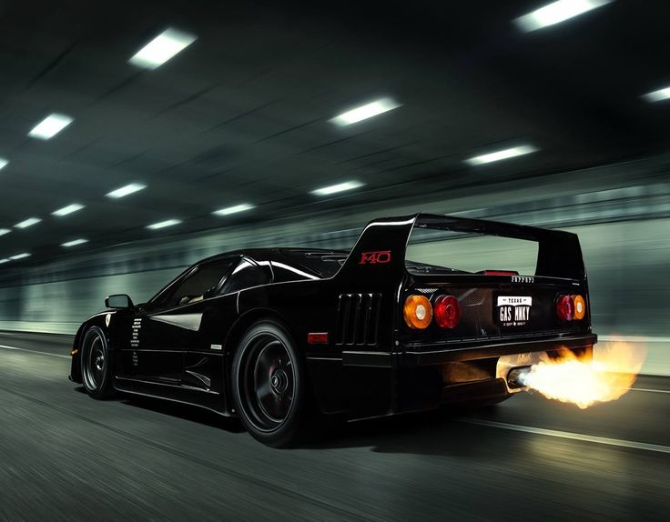 Ferrari F40.. the coolest F40 on the planet
