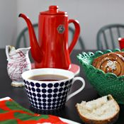 Gustavsberg Adam Tea Cup and Saucer by Stig Lindberg